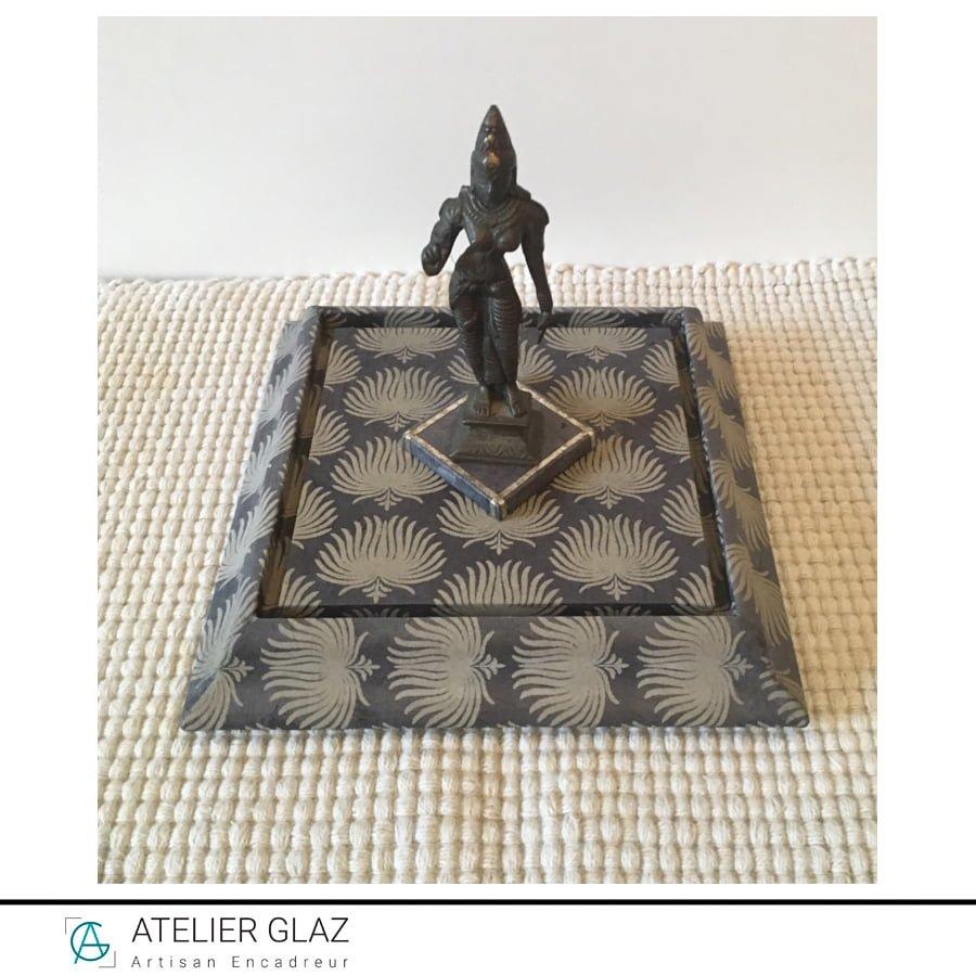 Socle Pour Statuette Deesse Lakshmi