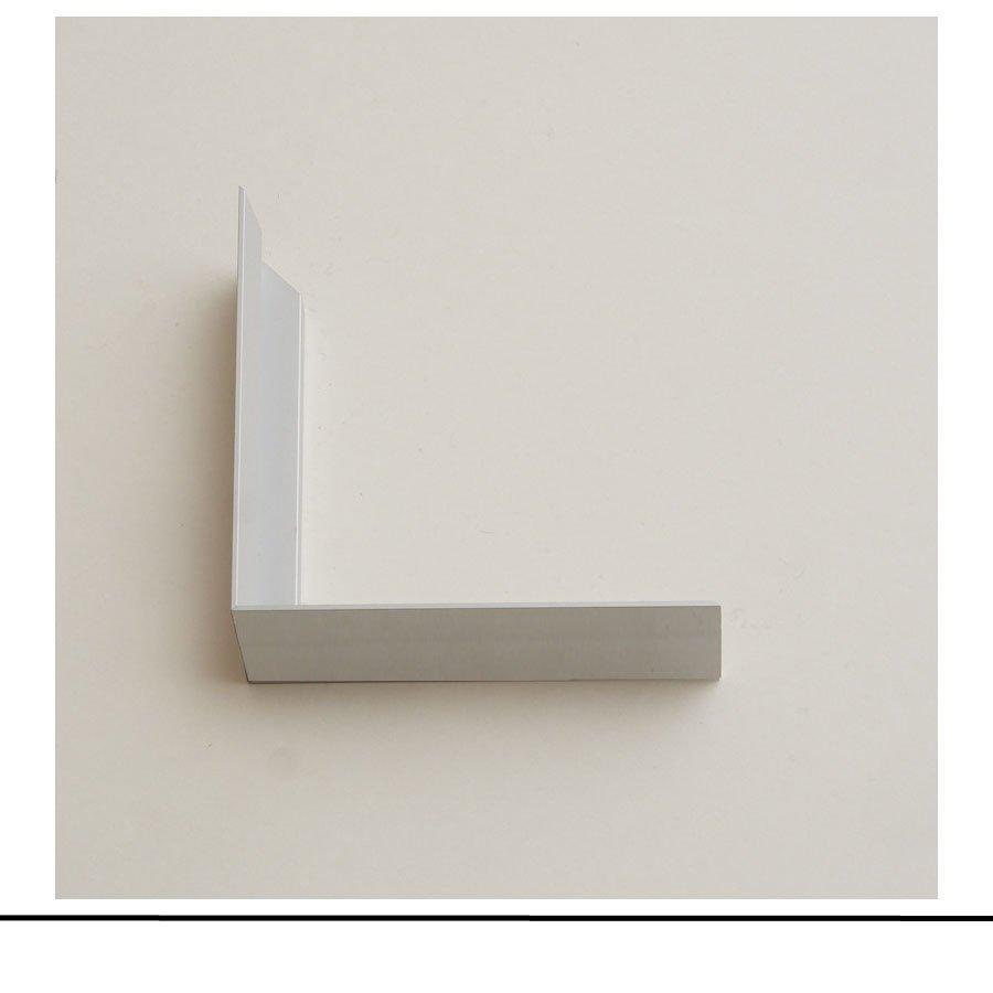 Aluminium White Bevel
