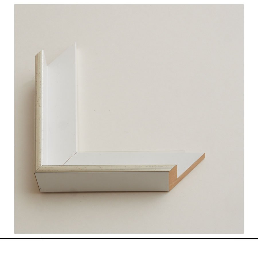 Tray Frame White And Natural