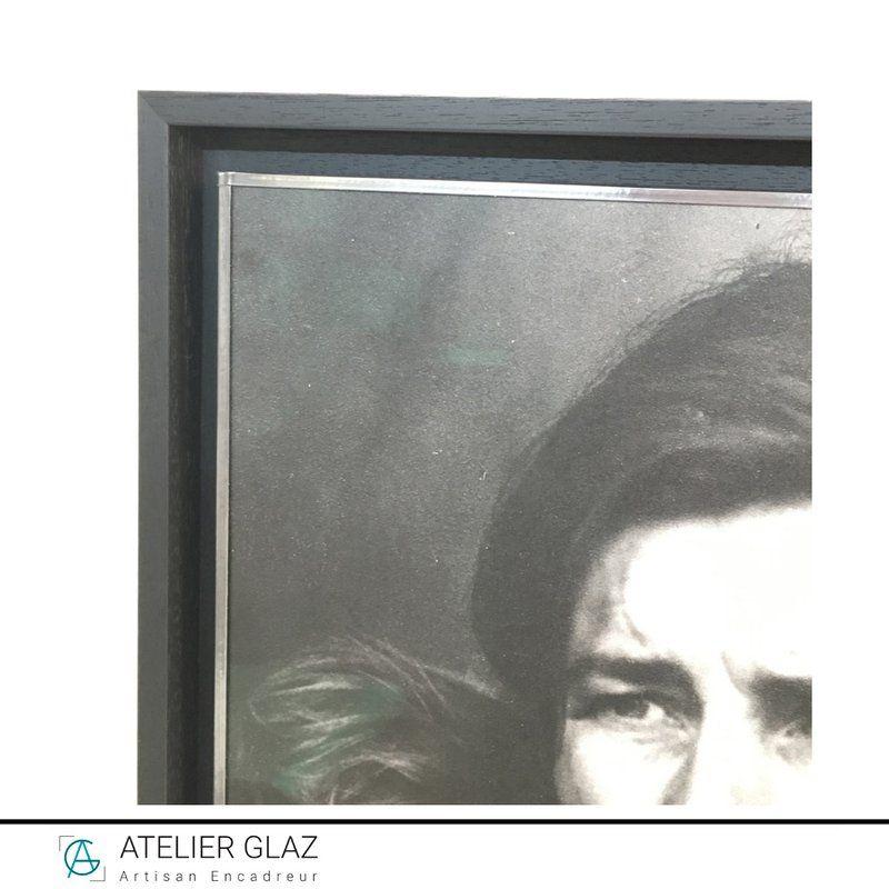 Poster encadrement bordé plomb | Atelier Glaz