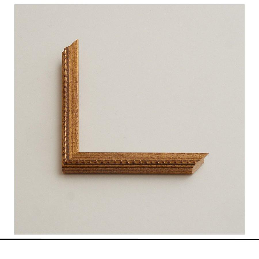 Guilloched Frame Golden